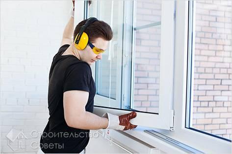 Как своими руками установить окна пвх