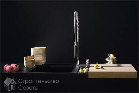 Как разобрать кран на кухне
