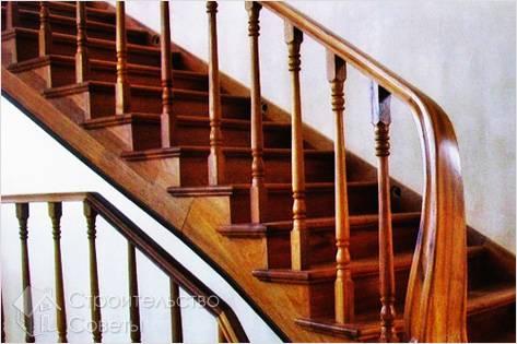 Как самому сделать перила для лестницы