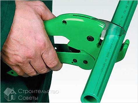 Пайка полипропиленовых труб своими руками