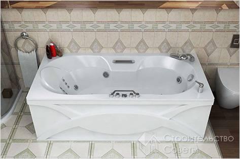 Как ухаживать за акриловой ванной