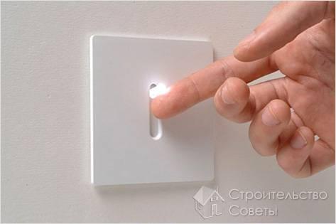 Как заменить выключатель