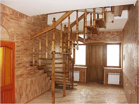 Модульная лестница на второй этаж своими руками