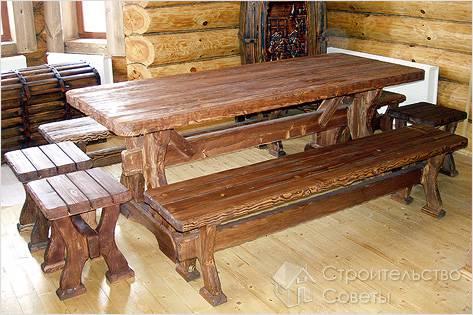 Мебель из дерева своими руками фото и