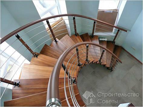 Изготовлние модульной лестницы