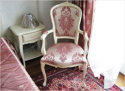 Перетяжка сидения стула своими руками