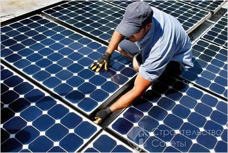 Сборка и пайка элементов солнечной батареи