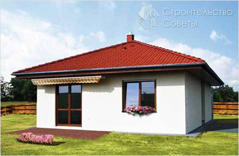 Шатровая крыша фото домов