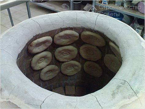 Печь тандыр своими руками