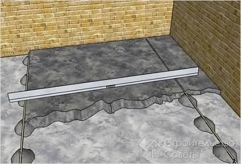 Технология цементной стяжки пола