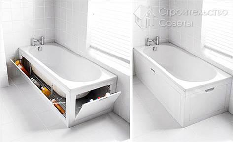 Как установить чугунную ванну своими руками