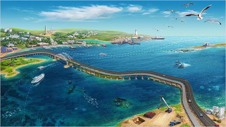 """Крымский мост будет четырехполосным — """"на вырост"""""""