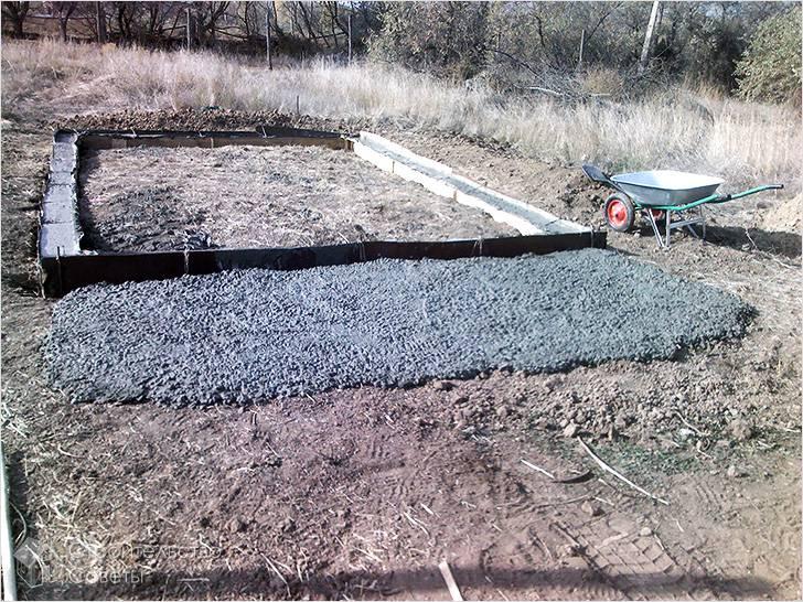 Фундамент для каменной постройки