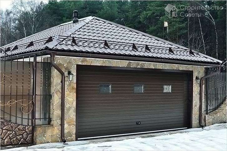 Как построить гараж своими руками дешево и быстро ( схемы)