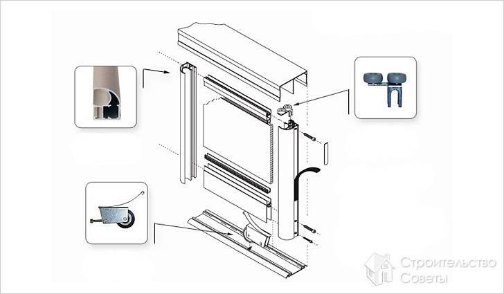 Как поставить двери в шкаф купе видео