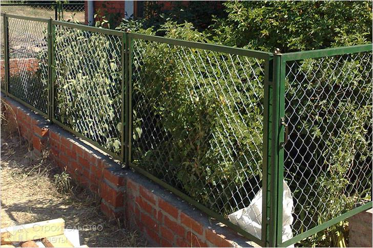 Секционный забор своими руками