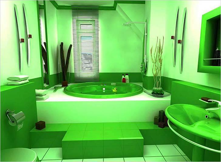 Ванна и раковина в одной цветовой палитре