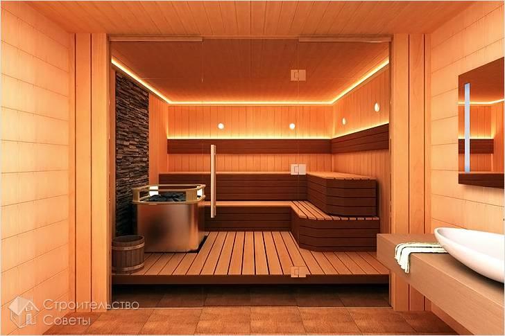 Как сделать перегородку в бане