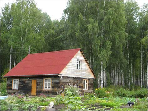 Дом из шпал своими руками