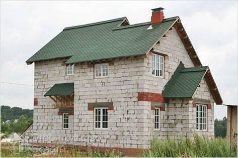 Проекты домов из пеноблоков 84 фото планировка и строительство конструкций из пенобетона кладка своими руками