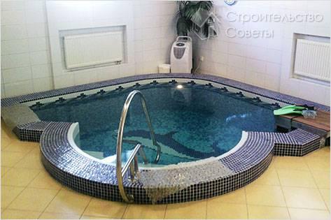 Теплый бассейн своими руками