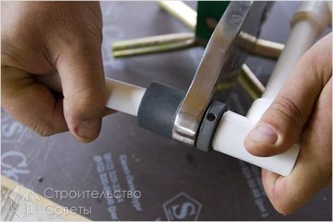 Монтаж полиэтиленовых труб своими руками