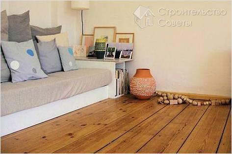 Укладка деревянного пола своими руками - деревянный пол