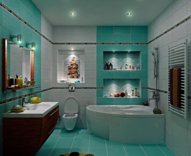 Как правильно распланировать ванную комнату совмещенную с туалетом